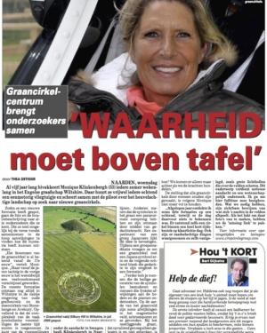 De Telegraaf 29 februari 2012